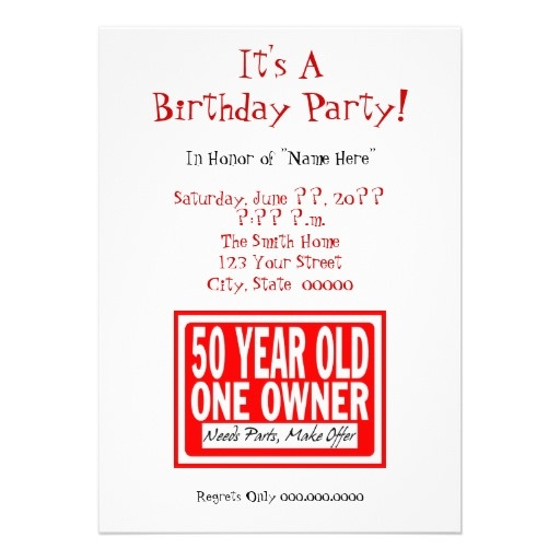 102 best 50th Birthday Party Inspo images – 50 Year Old Birthday Invitations