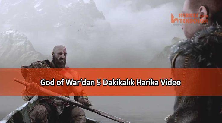 Sony E3 konferansında God of War'ın 5 dakikalık harika bir videosu yayınlandı. Oyunun hikayesi ve oyundan kesitler de yer aldı.