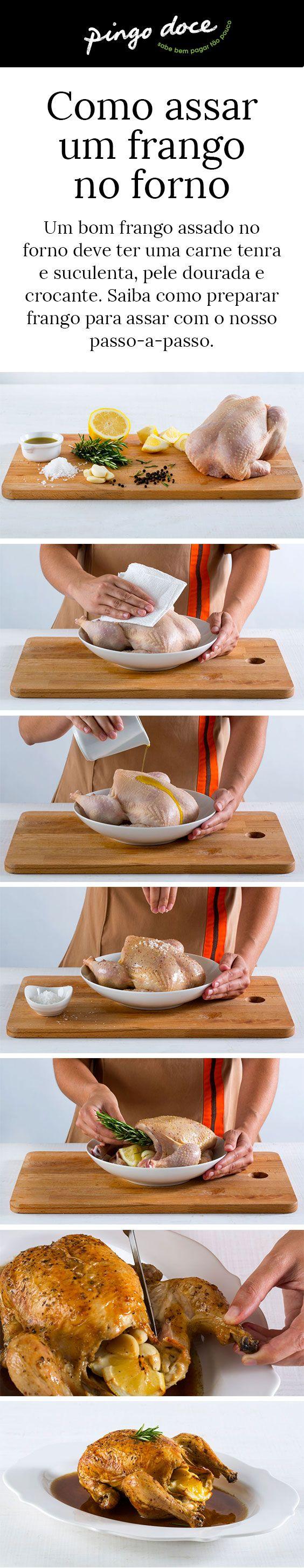 Veja o nosso passo-a-passo e saiba como assar um frango no forno da melhor forma.