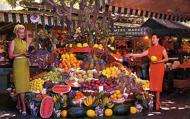 Farmers Market - Los Angeles, California