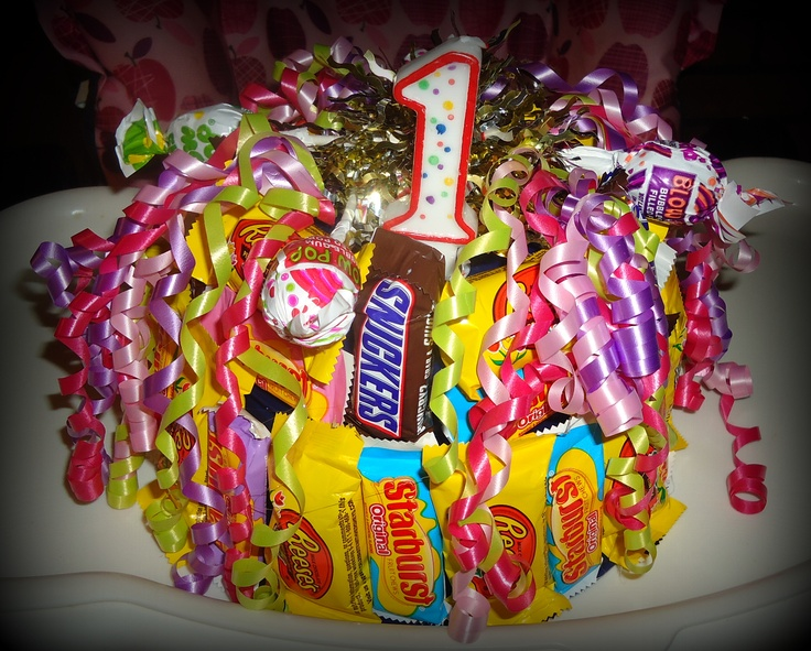 """Candy """"Cake"""" for Candyland theme birthday party 