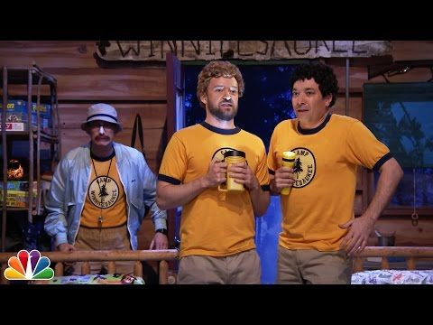 Jimmy Fallon And Justin Timberlake Go To Camp Winnipesaukee - http://clickfodder.com/jimmy-fallon-and-justin-timberlake-go-to-camp-winnipesaukee/