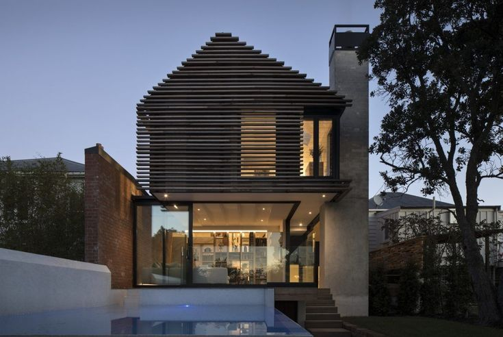 Restauration of a House Made by the Architectural Firm Matter #residentialarchitecture