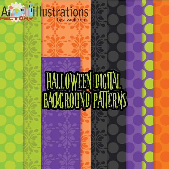 Free Digital papers for crafting this halloween
