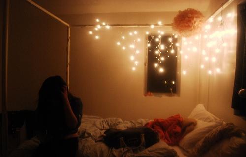 bedroom lightsBedrooms Lights, Apartments Ideas, Deco Ideas, Room Decorations, Dreams House, Diy Room, Dorm Ideas, Beautiful Diy, Bedrooms Ideas