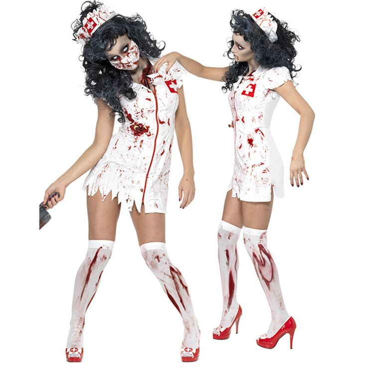 Newest Adult Ragged Sexy Scary Costume Mummy Costumes zombie halloween costumes blood Sexy nurse costumes for women cosplay