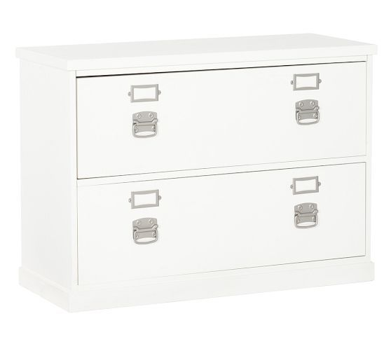 Bedford Lateral File Cabinet Pottery Barn Files Sit