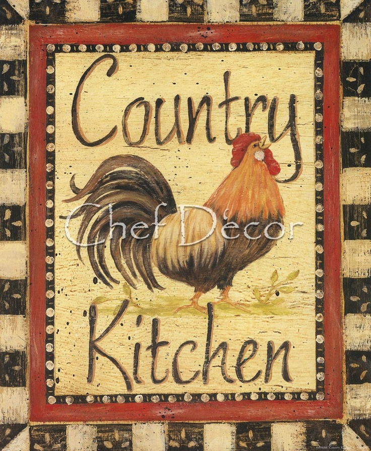Kitchen Decor With Roosters: 542 Best Painting Chickens Images On Pinterest