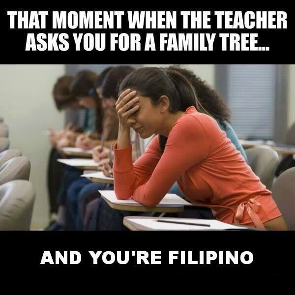 Family tree? More like family forest. hahah this made me laugh