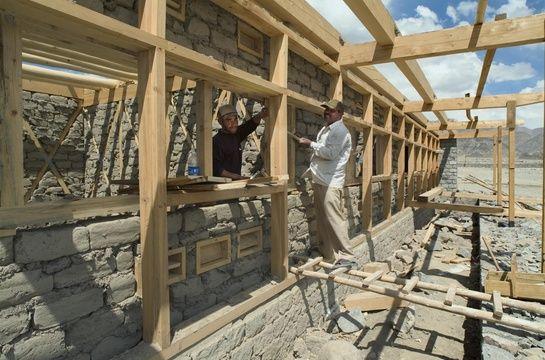 Arup Associates; Druk White Lotus School During Construction