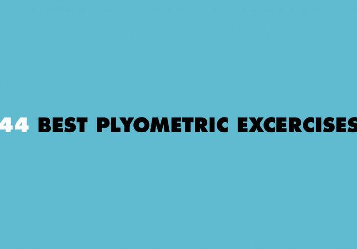 44 Best Plyometric Exercises