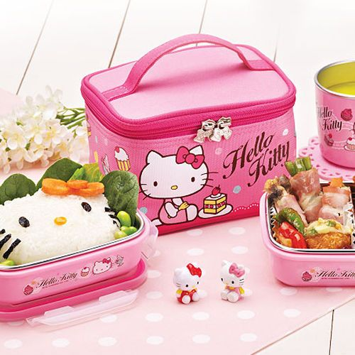 hello-kitty-lunch-box-multi-layer-tupperware-Divided-Lunch-Container-Bento-Food