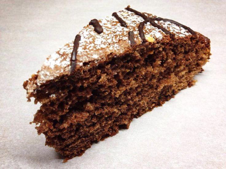 Torta di noci e cioccolato #ricettedisardegna #cucina #sarda #sardinia #recipe
