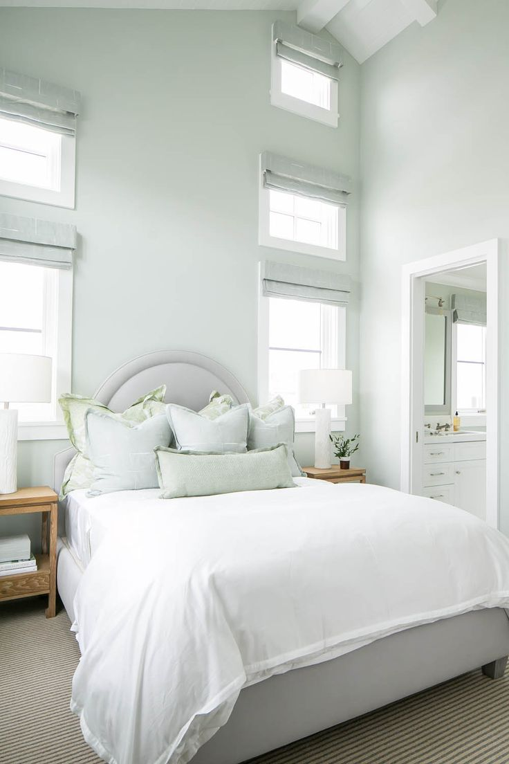 spacious and serene coastal bedroom