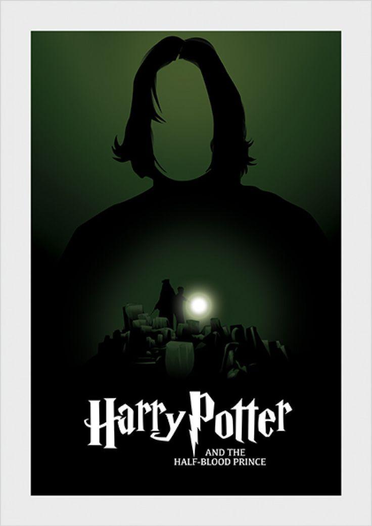 Enigma do Príncipe - Harry Potter - Livros   Posters Minimalistas