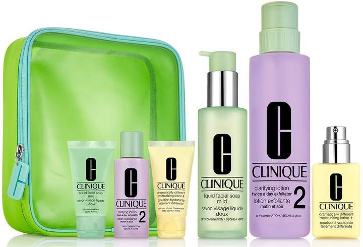 Clinique Great Skin Everywhere 3 Step Skin Careset Dry Skin Natural Skin Care Skin Care Skincare Set