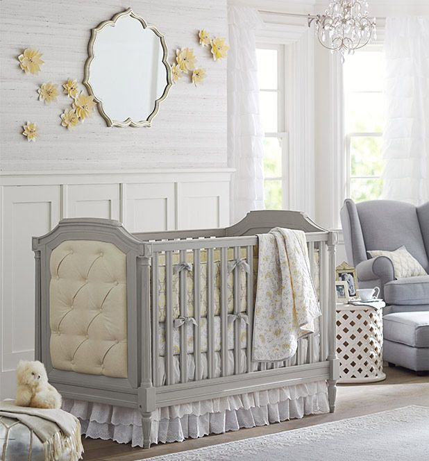 Pottery Barn Blythe Crib, French Gray