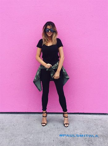 Nicole Guerriero wearing Nasty Gal On a Level Black Vegan Suede Heels https://api.shopstyle.com/action/apiVisitRetailer?id=504293665&pid=uid7729-3100527-84. #style #celebstyle