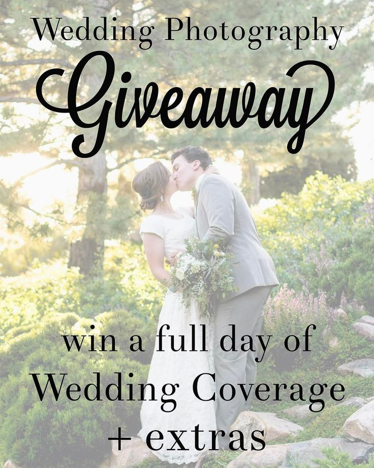 The Complete Wedding Collection Giveaway  Rules:1. Like this Post 2. Tag 3 friends in the comments (daily entry) 3. Follow @danielpage & @danpageweddings 4. Go to link in bio (details & more entries) (you have to do all this in order for it to be valid)  Includes: -up to 6 hours of Wedding Day Coverage -Engagement OR Bridal Session -Custom Designed Hardcover Wedding Album -1-16x20 Print  $2500 VALUE.  Ends March 11th 2017