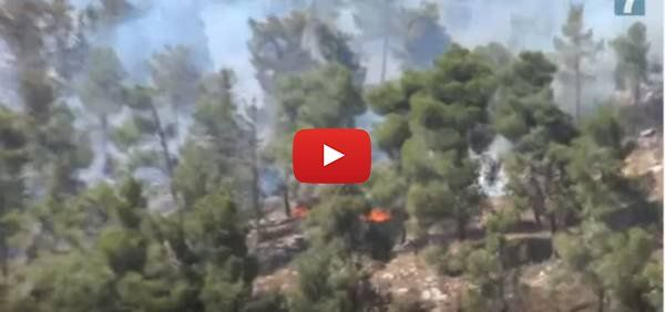 WATCH: The Hills of Jerusalem are Burning!