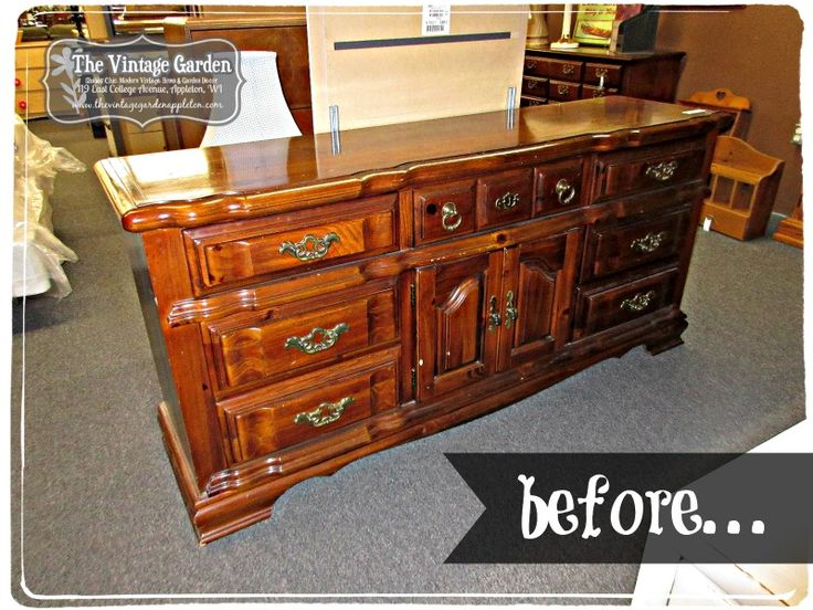 Outdated Dresser Turned Chic, Television Console!