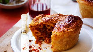 Timpana recipe - A Maltese Pasta Casserole : SBS Food