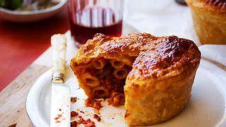 Timpana recipe - A Maltese Pasta Casserole : SBS Food