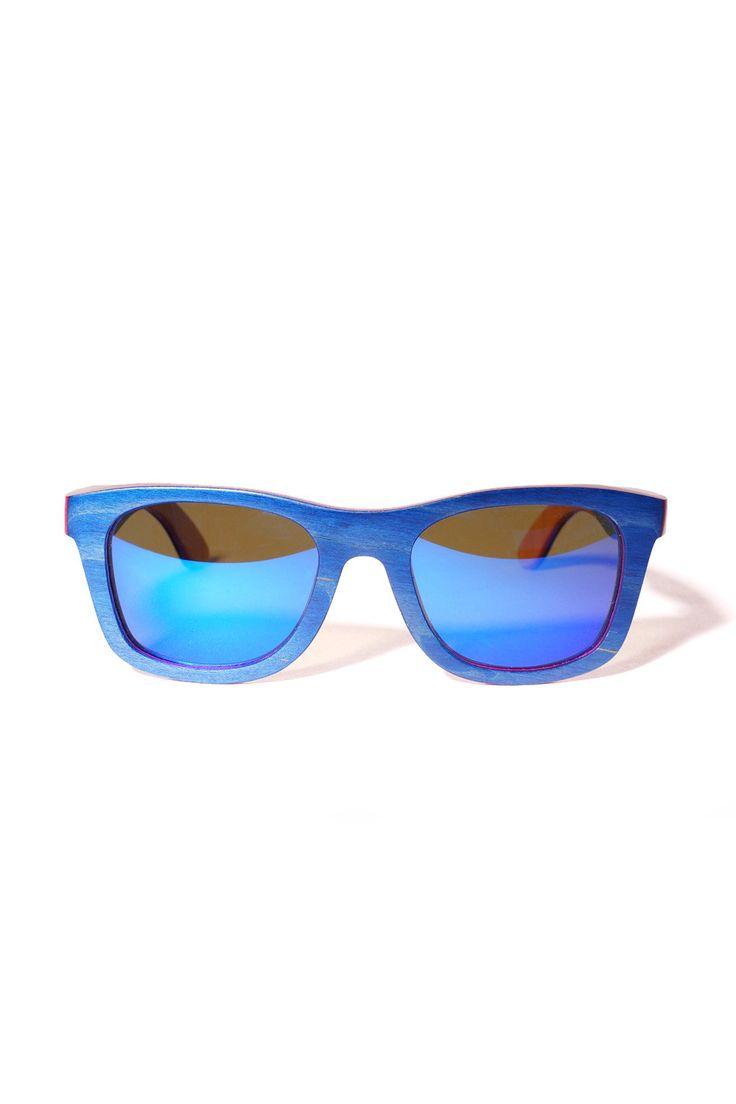 LAMINATED WAYFARER BLUE from Ozon Boutique