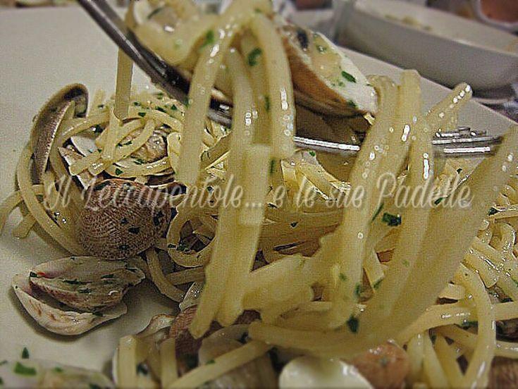 Spaghetti con le vongole. un classico intramontabile...