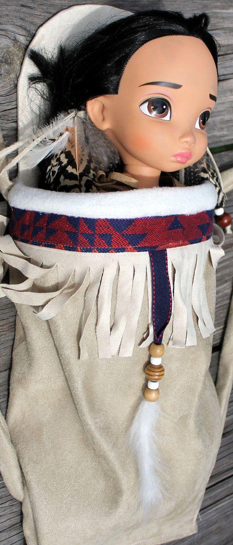 Vestido/Papoose conjunto nativo americano inspirado por MainstreetX