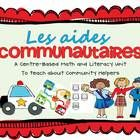 Community Helpers Unit in French!!