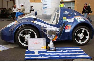 Ελληνικό αυτοκίνητο υδρογόνου: Με ένα λίτρο διανύει 500 χιλιόμετρα!