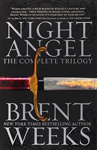 Night Angel: The Complete Trilogy (The Night Angel Trilogy) by Brent Weeks http://www.amazon.com/dp/0316201286/ref=cm_sw_r_pi_dp_T-vDvb1K8W0GC
