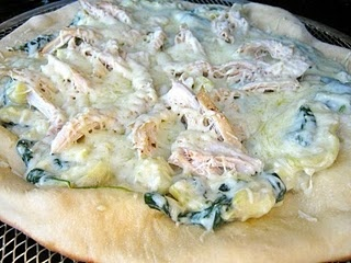 Spinach & Artichoke Pizza... oh my gosh I can never EVER get enough spin and art I promise!: Dips Pizza, Artichoke Dip, Fabulous Food, Spinach Artichoke Pizza, Artichokes Dips, Favorite Recipes, Spinach Artichokes Pizza