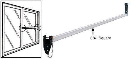Crl Aluminum Security Bar For Sliding Glass Doors Sliding Glass Door Glass Door Aluminium Glass Door