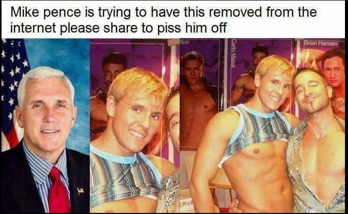 Hmm... his anti LGBTQ stance is much more interesting now and still altogether terrible.