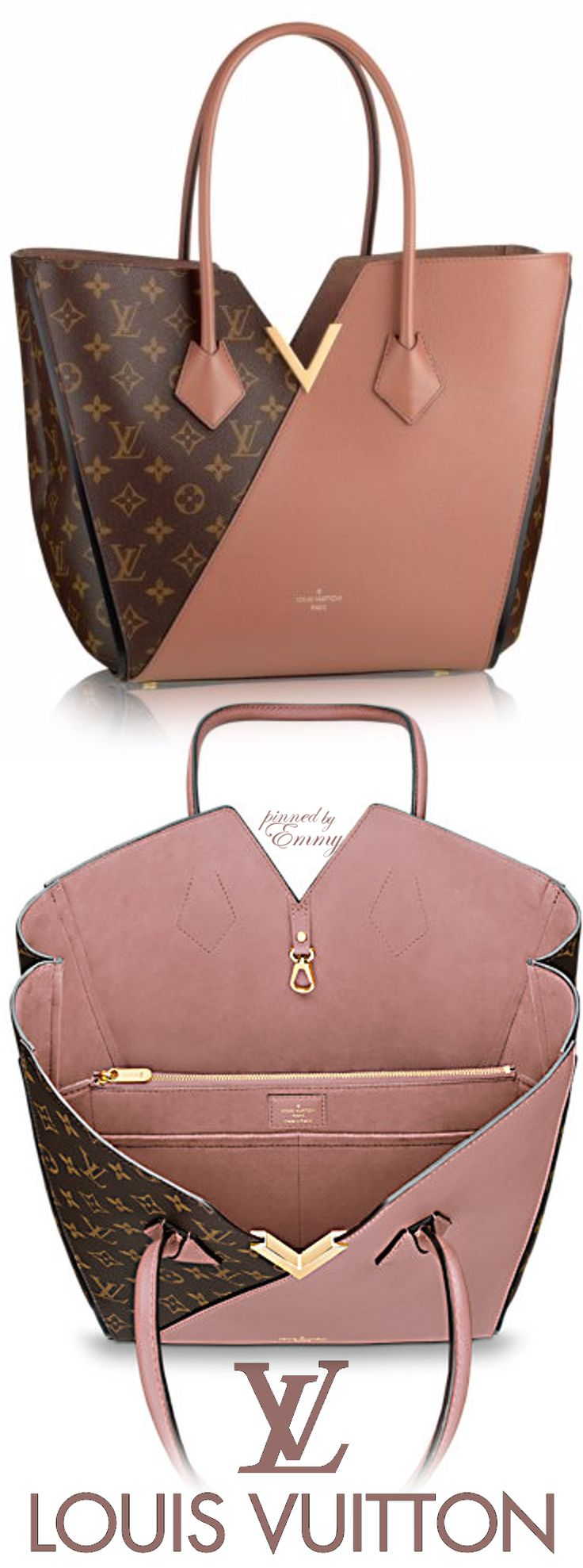 An LV bag I actually like - Louis Vuitton 'Kimono' #bag #pink