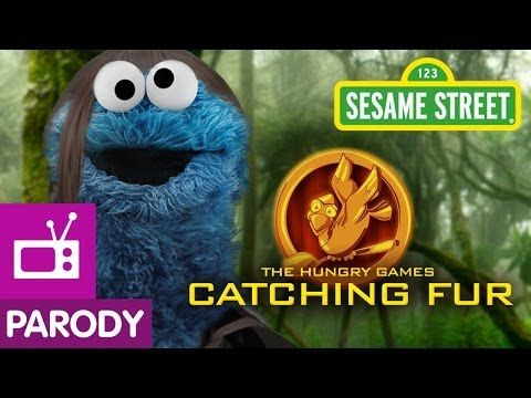 Sesame Street: The Hungry Games- Catching Fur (Hunger Games: Catching Fire Parody) - YouTube