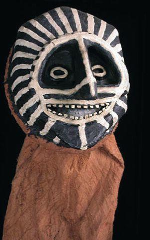 Animal spirit mask  Piaroa-Huarime people, Orinoko River region, Venezuela