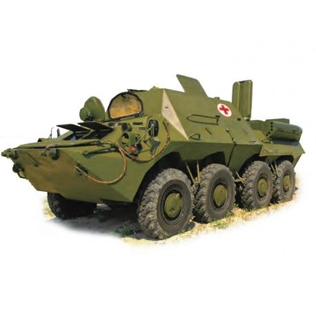 BTR-3S Armored Medical Vehicle is intended to search and evacuate wounded men from fires of mass defeat and provide them with medical service.