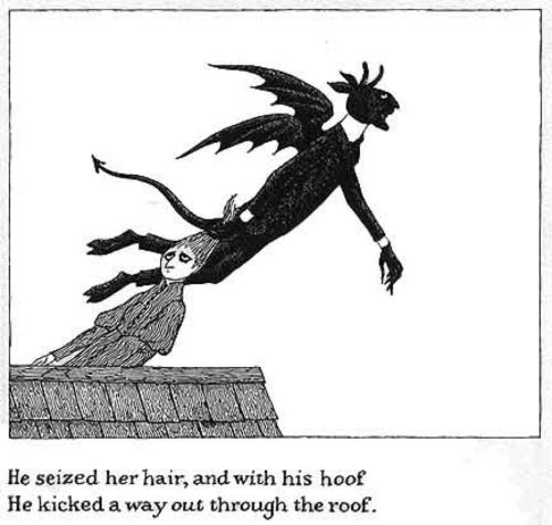 The Disrespectful Summons by Edward Gorey