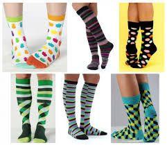 Resultado de imagem para meias coloridas