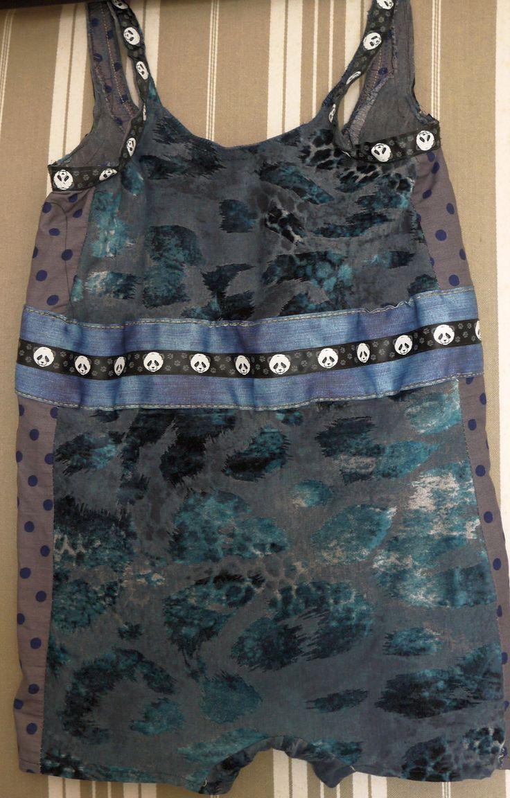 maillot bain vintage rétro une pièce enfant fille : Mode filles par princesse-aglae