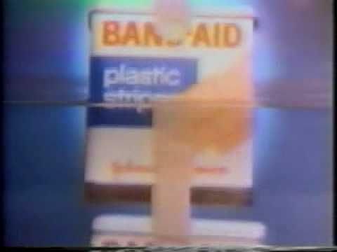"Remember this commercial? ""I am stuck on band aid brand 'cause band aid's stuck on me!"""