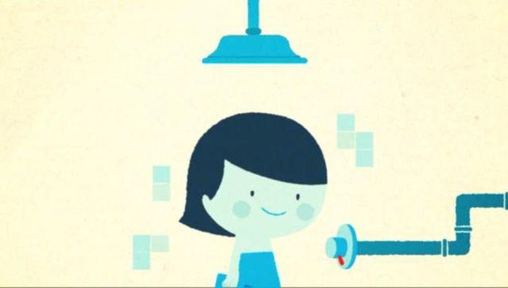 Pete Mellor - TV Commercial for Unicef/Van Marcke Tiphaine-illustration #water #unicef