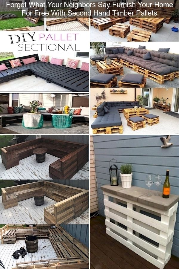 Outdoor Cushions For Pallet Couch | Outdoor Seating Made ...
