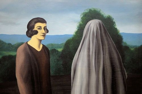 René Magritte - The invention of life - 1928