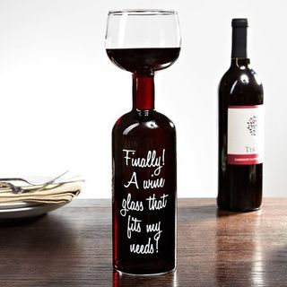 """Finally, a wine glass that fits my needs!"""