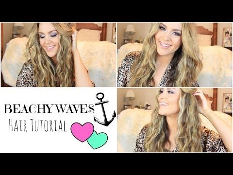 Excellent tutorial on how to get quick beachy waves using the Hot Tools Deep Waver