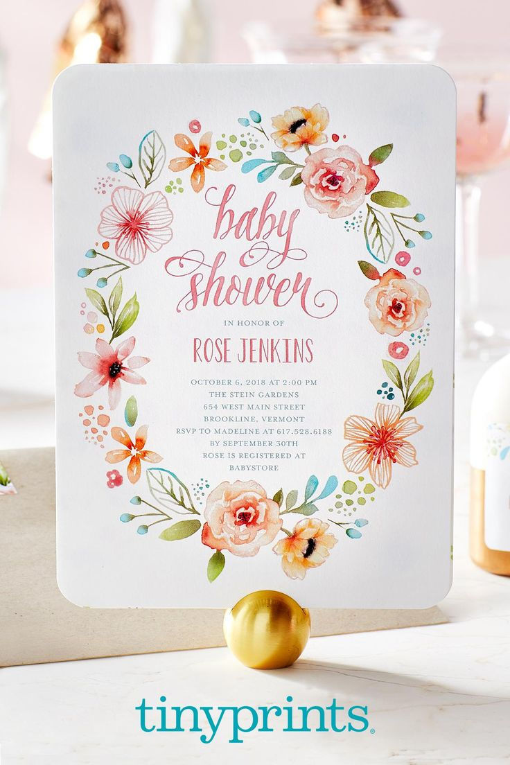 Unique baby shower invitations for girl-5470